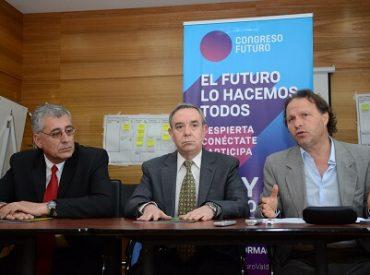 """Senador De Urresti y Congreso del Futuro: """"Nuestra región tiene mucho que aportar en el desarrollo científico y tecnológico"""""""