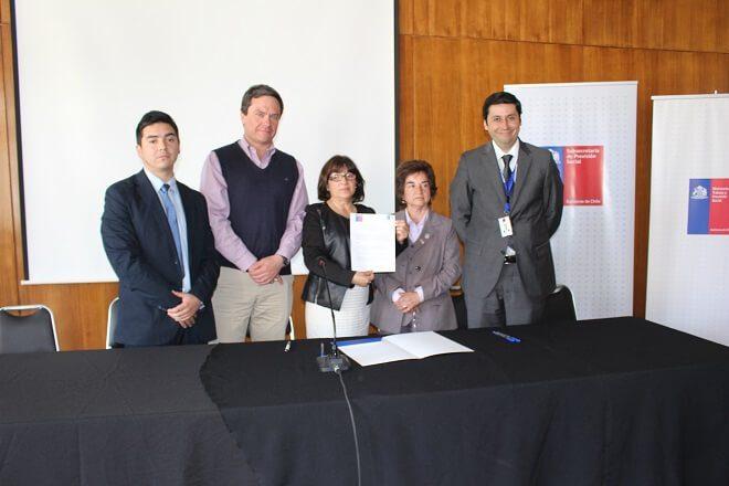Realizaron la difusión de la Política Nacional de Salud y Seguridad en el trabajo a sindicatos de Valdivia