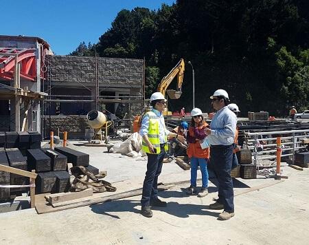 En enero próximo concluye la reposición delTerminal de Pasajeros de Niebla