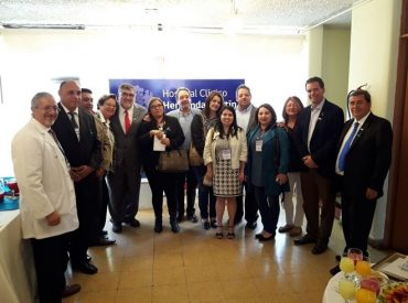 Harboe celebra inauguración de centro oncológico y busca incorporar unidad de radioterapia en nuevo Hospital de Chillán