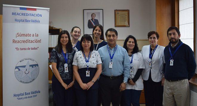 Hospital Base Valdivia avanza a la reacreditación en calidad y seguridad de la atención