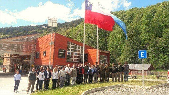 En Huahum se inaugura segundo Ejercicio de Control Integrado de Frontera