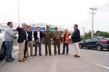 MOP coordina con Carabineros fiscalización a vehículos durante fin de semana largo en ruta Concepcion – Cabrero