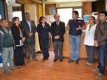 Municipio y Gobernación Provincial inauguran Respaldos Energéticos en postas de la comuna