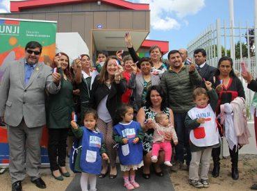 Rafael cuenta con primera sala cuna y jardín infantil en la historia de la localidad de Tomé