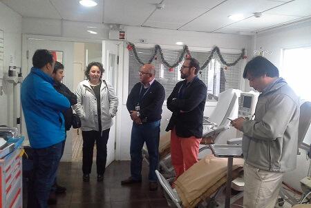 Se reestablecen atenciones en centro de diálisis de Quellón tras terremoto