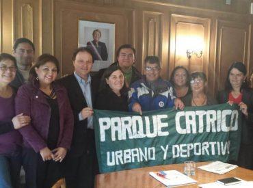 Senador De Urresti solicita a ministros información sobre estado de avance del Parque Urbano Catrico