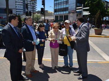 """En Concepción Sernac regional lanza campaña """"Que no te cuenteen"""" y llama a los consumidores a prevenir el fraude"""