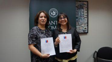 Firman convenio que apoyará todo el 2017 a familias vulnerables de Valdivia