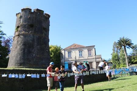 Cientos de valdivianos buscaron el tesoro en cierre de la Capital Cultural