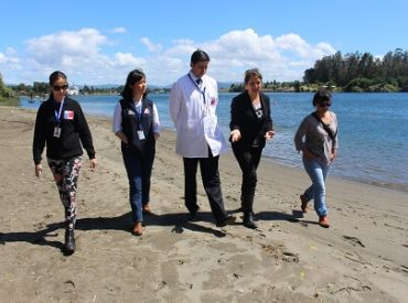 Autoridad Sanitaria avanza con fiscalización de descargas en playa Collico