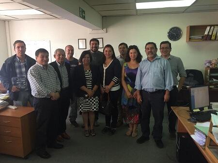 En Región del Biobío Sernapesca y agentes aduaneros sostienen reunión de trabajo