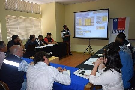 CONAF entrega información a funcionarios de INDAP sobre Prevención de Incendios Forestales