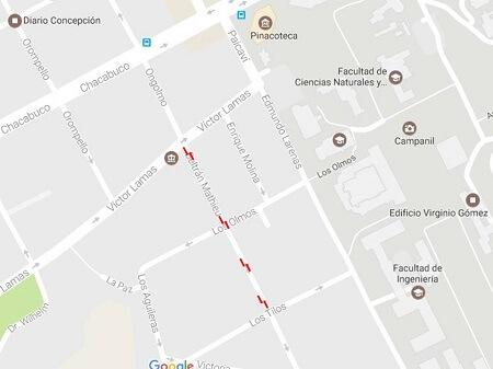 En Concepción calle Beltrán Mathieu recupera doble sentido