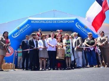 En Concepción se inauguró la 53ª versión de la Feria Internacional de Arte Popular