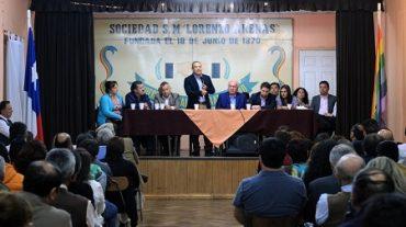 Diputado Víctor Torres se reunió con militantes de Concepción