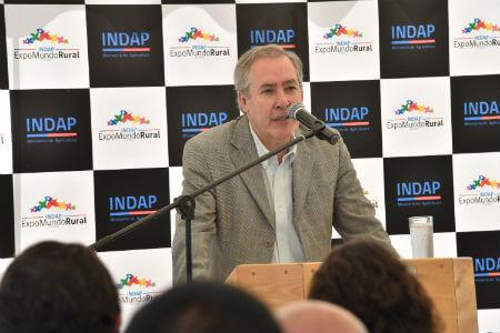 Director Nacional de INDAP da el vamos a la Expomundo Rural en Panguipulli