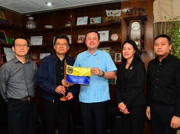 Embajada de Tailandia y municipio penquista preparan actividad cultural