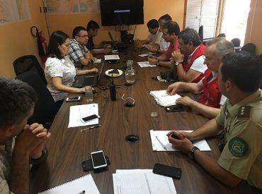 Intendente del Biobío entregó balance de los incendios forestales que se registran en la región