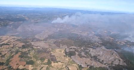 Intendente del Biobío asegura que se trabaja con todos los recursos del Estado y de privados para controlar incendios forestales