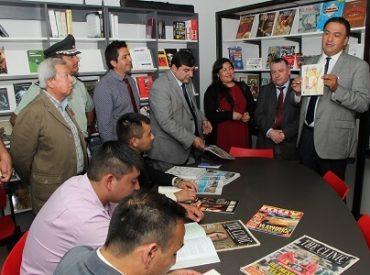 Internos del Centro de Detención Preventiva de Coronel ya cuentan con una biblioteca