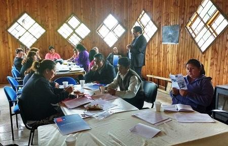 IPS Los Ríos coordina desarrollo de línea intercultural con mesas territoriales mapuche