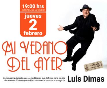 «Luis Dimas» llegará este jueveshasta gimnasio Gil de Castro de Valdivia