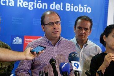 Ministro de Obras Públicas, Alberto Undurraga, informa que se construyen grandes cortafuegos para proteger zonas urbanas de la Región del Biobío