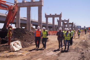 Obras del puente Bicentenario ya registran un 15 % de avance