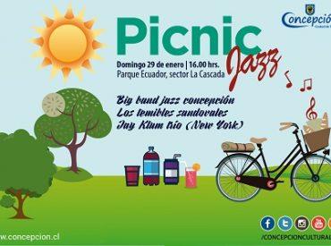Nueva versión de Picnic Jazz reunirá ainvitados locales e internacionales en Concepción