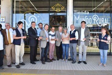 Tercera Tienda Mundo Rural abre sus puertas en el Terminal de Buses de Valdivia