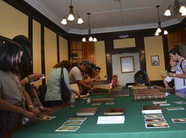 Visitantes destacan Centro de Estudios Cervantinos de la USS