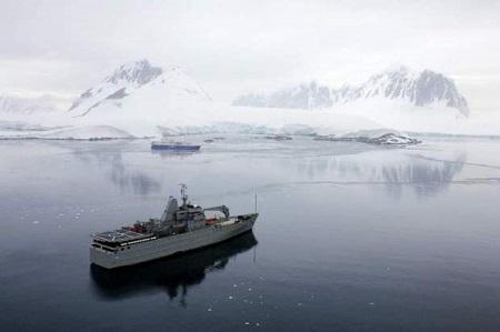 Culminó expedición científica marítima por la península Antártica