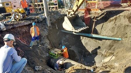 En Concepción Essbio informó a vecinos de población Pedro del Río sobre obras de refuerzo a reparación de matriz