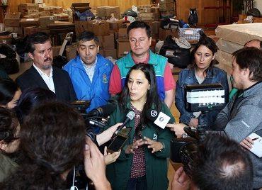 Concepción recibe los primeros kits de abrigo del Hogar de Cristo
