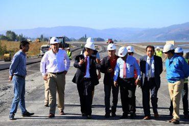 Construcción de Costanera Chiguayante alcanza un 70 % de avance