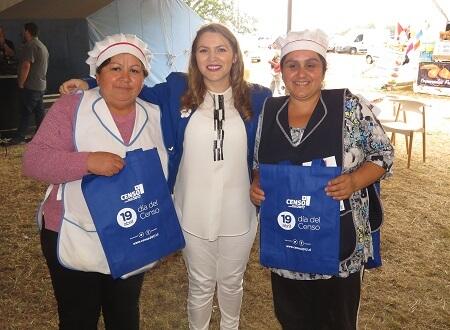 Directora del INE coordinó acciones para el Censo 2017 en la provincia de Arauco