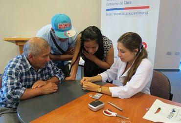 Entregan audífonos a pacientes con discapacidad auditiva en operativo realizado en el Hospital de Imperial