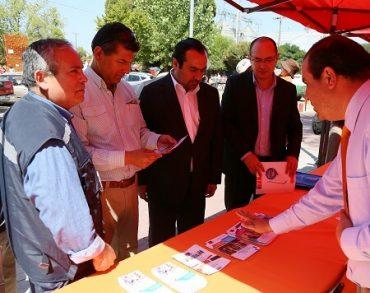 Feria Ciudadana dio a conocer medidas de la cartera de trabajo para afectados de San Nicolás