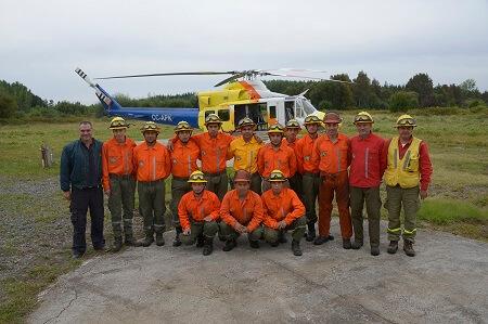 Forestal Mininco ha invertido 20 millones de dólares en recursos destinados al combate de incendios en el país