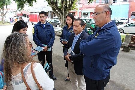Gobernación de Chiloé y PDI entregaron recomendaciones para evitar clonación de tarjetas bancarias