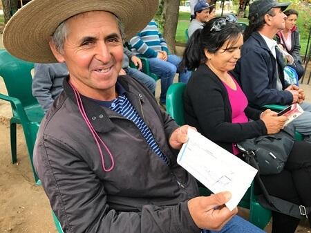 147 familias campesinas de Hualqui, Mulchén y Tomé recibieron recursos del gobierno para reponer pérdidas causadas por incendios forestales
