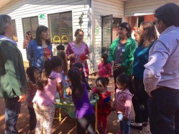 Instalan jardines infantiles estacionales de emergencia en Ranguelmo y Portezuelo