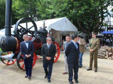 Intendente Hernández llegó hasta Carahue para conmemorar los 135 años de la comuna e inaugurar la feria de la papa