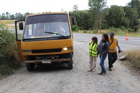 Encuentran irregularidades en los buses que trasladan trabajadores al Fundo Rucahue