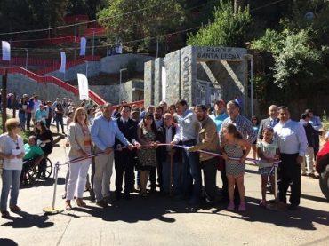 Minvu inaugura obras de mejoramiento de Parque Santa Elena de Contulmo