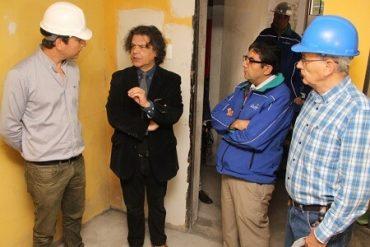 Se reiniciaron obras de mejoramiento en emblemático edificio de Concepción dañado por terremoto del 27F