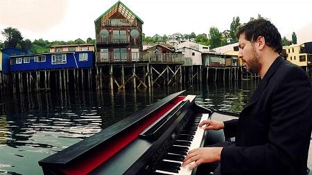 Pianista Mathias Encina ofrecerá concierto solidario en Concepción