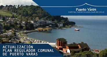 Plan Regulador Comunal de Puerto Varas se encuentra en etapa de Participación Temprana y no existe plazo para su término