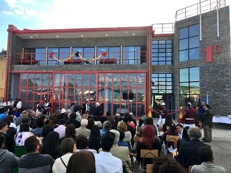 En Paillaco Inauguraron Cuartel de Primera Compañía Bomberos